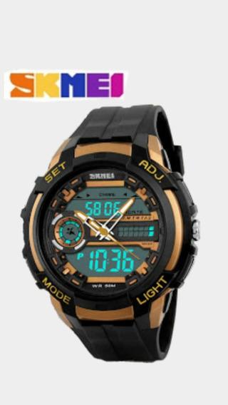 Relógio Masculinos Skmei 1202 Original Analogico Digital