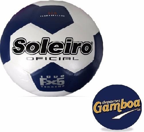 Balon De Futbol #4 Soleiro !envío Gratis!