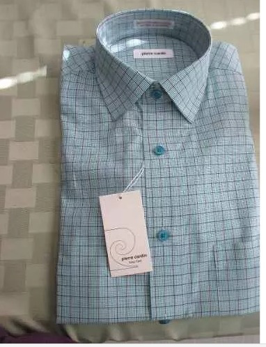 Camisa Para Hombre Marca Pierre Cardin Talla S Importado Usa