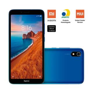 Smartphone Xiaomi Redmi 7a 32gb 2gb Ram 12mp Tela 5.45 Azul
