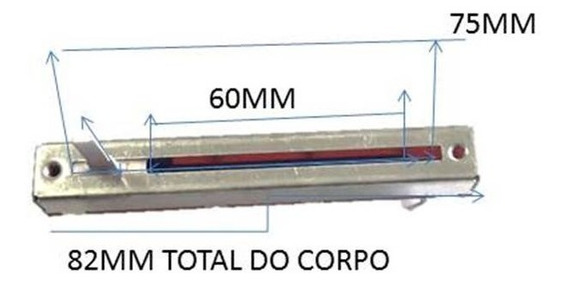 Potenciometro Deslizante 10ka Sl60v