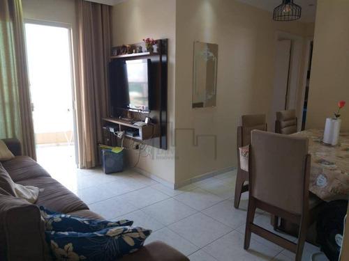 Apartamento À Venda, 60 M² Por R$ 320.000,00 - Vila Haro - Sorocaba/sp - Ap1706