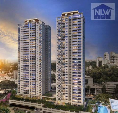 Apartamento Com 3 Dormitórios À Venda, 186 M² Por R$ 2.534.169,00 - Cidade Jardim - São Paulo/sp - Ap1965