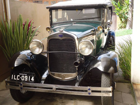 Ford Modelo A 1930/30 -placa Preta=fordinho/calhambeque