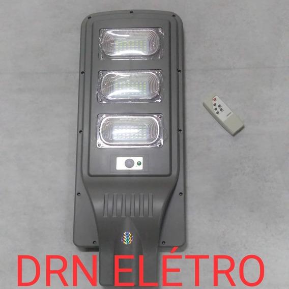 Refletor Luminária .pública Poste Solar 60w Sensor 5 Unit