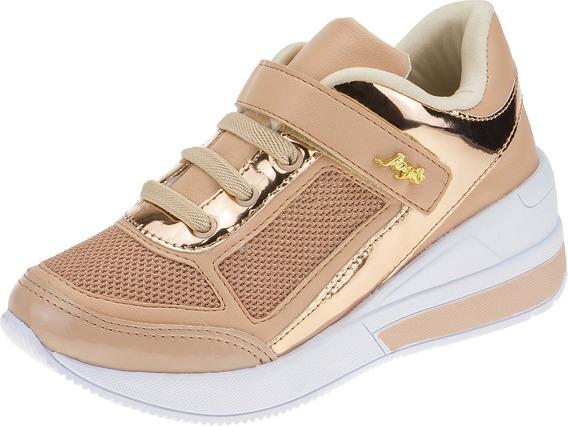 Tenis Feminino Infantil Sneaker Menina Moda Calce Fácil