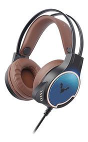 Headphone Gamer Usb Wesdar Gh1 Marron