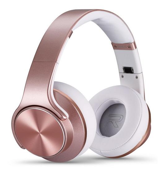 Headphone Rosé Gold Atende Ligações Sem Fio Original Xtrax