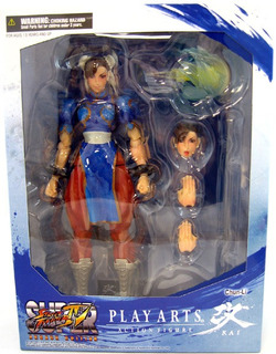 Square Enix Play Arts Kai Super Street Fighter Iv Chun Li