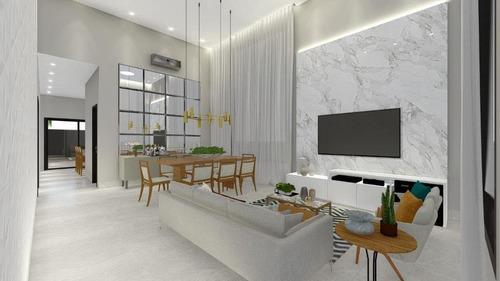 Imagem 1 de 14 de Casa Com 3 Dormitórios À Venda, 178 M² Por R$ 1.150.000 - Zona Sul - Ribeirão Preto/sp - Ca0417
