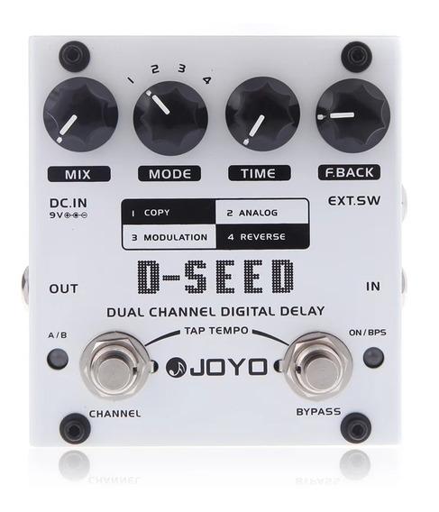 Pedal Delay Joyo D-seed Dual Channel(promoçao)pronta Entrega