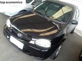 Chevrolet Corsa Classic 1.0 Life 4p Álcool Preto 2005/novo !