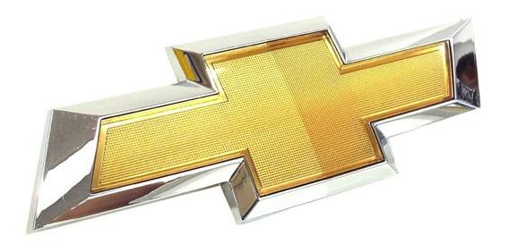 Emblema Gravata Dourada Dianteiro Genuíno Gm Para Spin