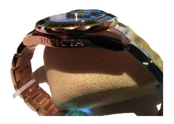 Reloj Invicta Oro Dorado Pro Diver Con Baño De Oro 18k