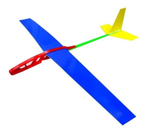 Avion Planeador Dedalo 2 Impreso 3d Madera Balsa Kit Mini