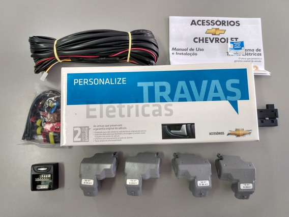 Kit Trava Elétrica Celta Prisma 4 Portas 07/12 Gm 94743053