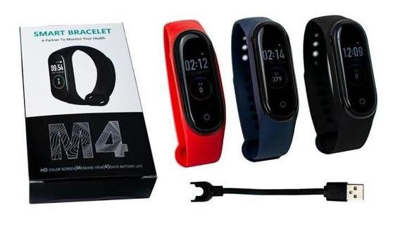 Smart Band M4 Presión Podómetro Ritmo Cardiaco Fitness