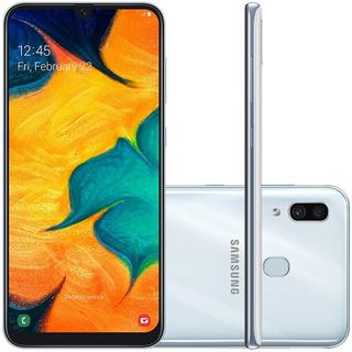 Celular Samsung A30 Branco 64gb 6.4