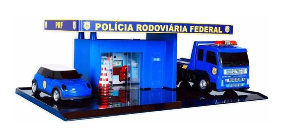 Escala 1:32 Posto Vigilante Rodoviario 50cm Guincho E Carro