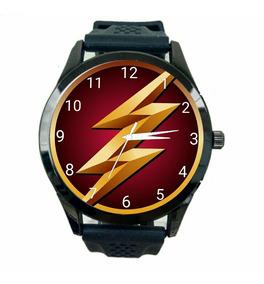 Relógio Flash Unissex Herois Dc Comics Liga Da Justiça T38