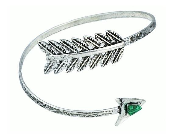 Braçadeira Bracelete Boho Hippie Étnico Tribal Lança Flecha