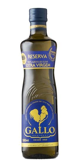 Azeite Português De Oliva Extra Virgem Reserva Gallo 500ml
