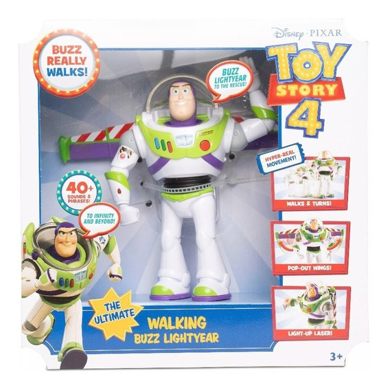 Toy Story 4 Buzz Lightyear Movimientos Reales