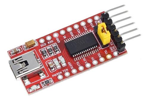 Imagen 1 de 6 de Ft232rl Ft232 Convertidor Usb Serial Ttl / Cmos Arduino Prog