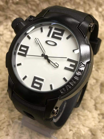 Relógio Oakley Gearbox Titanium Resistente A Água