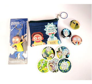 Mini Set Para Regalo Rick And Morty