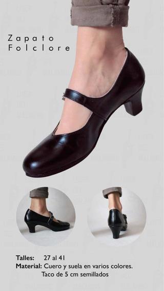 Zapato Para Folclore Baile