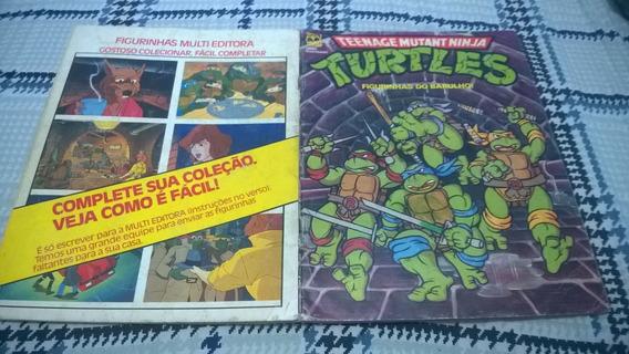 Album Turtles Tartarugas Ninja Incompleto ( 2 )