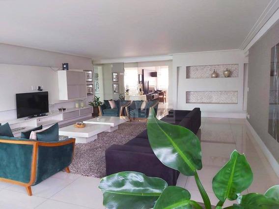 Apartamento Com 4 Dormitórios À Venda, 275 M² Por R$ 2.299.000,00 - Jardim - Santo André/sp - Ap9809