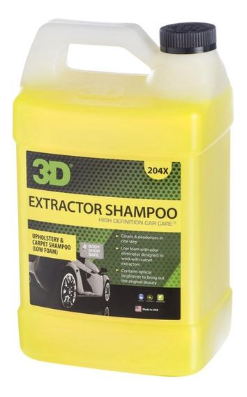 Shampoo Extractor 3d-baja Espuma - Para Máquinas 3d