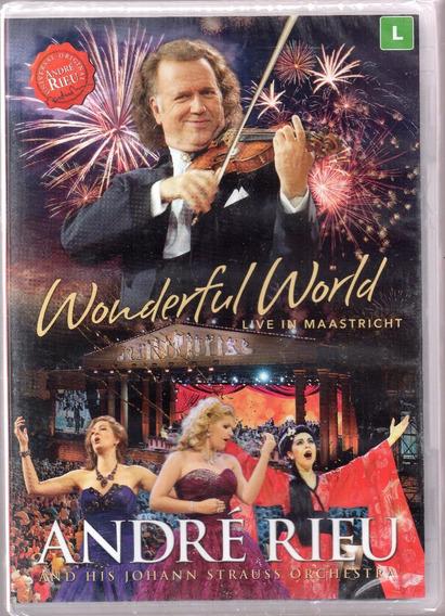 Dvd André Rieu Wonderful World Live Maastricht (lacrado)