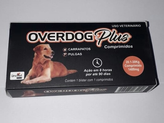 Over Dog Plus 20.1 A 30kg (fórmula: Fluralener.)