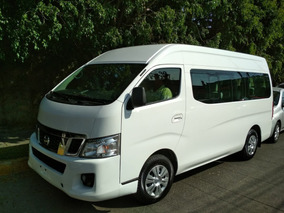 Nissan Urvan Diesel 2.5 , 15 Pas Lujo Ampliapack Seg Mt