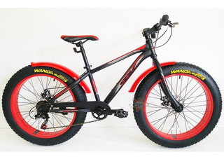 Bicicleta Sbk Fat Bike Hunter Rodado 24 Dama Varon Colores