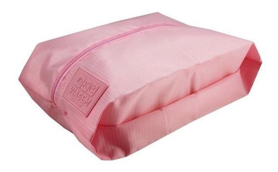 Bolsa Porta Sapato Viagem Rosa Arh18613