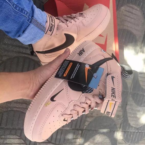 Tenis Bota Nike Air Force Lançamento Promoçao &frete Gratis