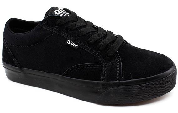 Tênis Qix Shoes 109306 Skate Lona Preto