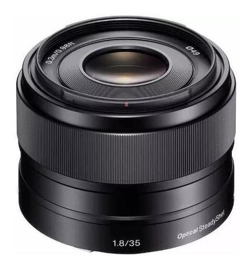 Lente Sony E 35mm F1.8 Oss + Filtro Nd Zomei 49mm
