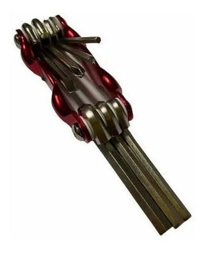 Imagem 1 de 3 de Jogo Chave Allen Canivete 7 Funções