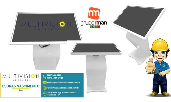 Moldura Touch Screen 43 Frame Multitouch Infra Red 10 Toques