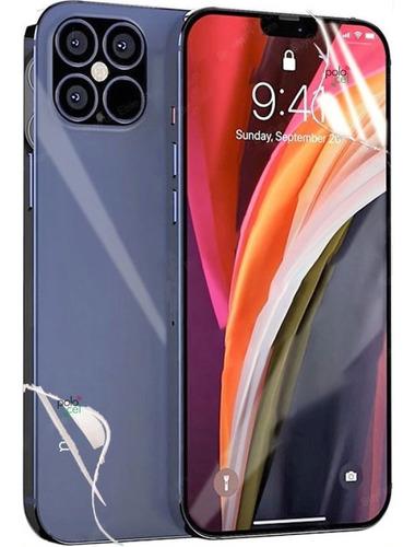 Imagen 1 de 8 de Protector Hidrogel Frente + Dorso iPhone | Todos Los Modelos