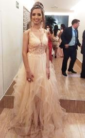 Lindo Vestido De Festa Luxo Casamento / Formatura / 15 Anos