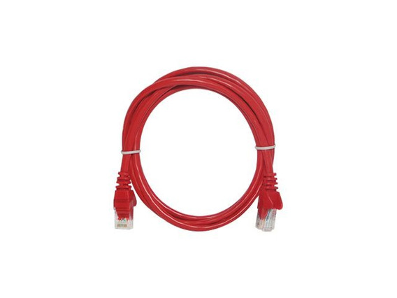 Patch Cord Seccon Cat6 2.5mt Vermelho Cy.pc2.5m-6-26-rd