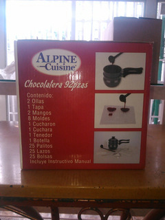 Chocolatera Marca Alpine