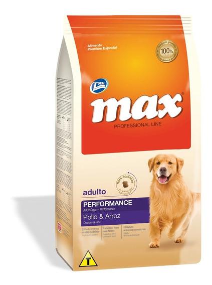 Alimento Perro C Max Adulto Performance Pollo 20kg