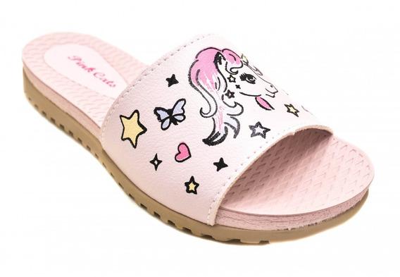 Pink Cats Tamanco Infantil V0163
